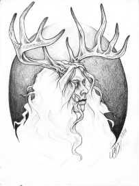 A Study of Josh Silver as a Whitetail Stag